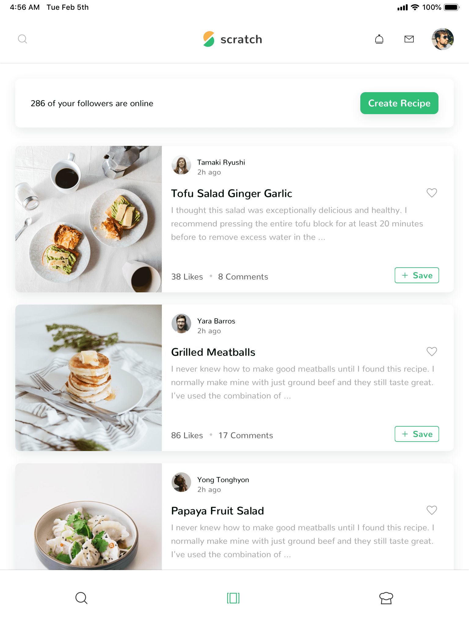 Scratch—A UI Kit to nourish your creativity by InVision | Inside