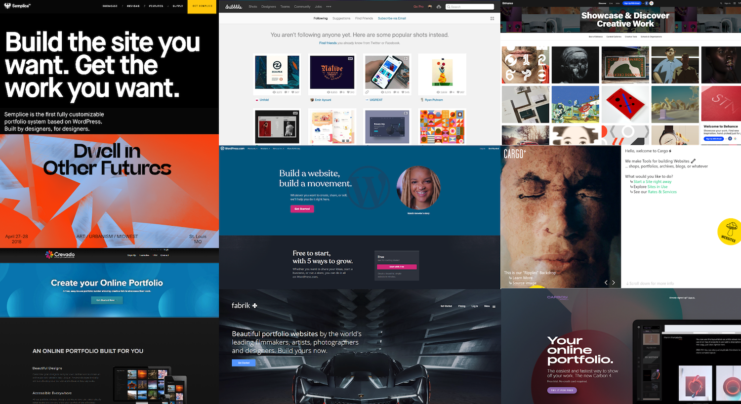 10 Portfolio Websites To Show Off Your Design Work Inside Design Blog