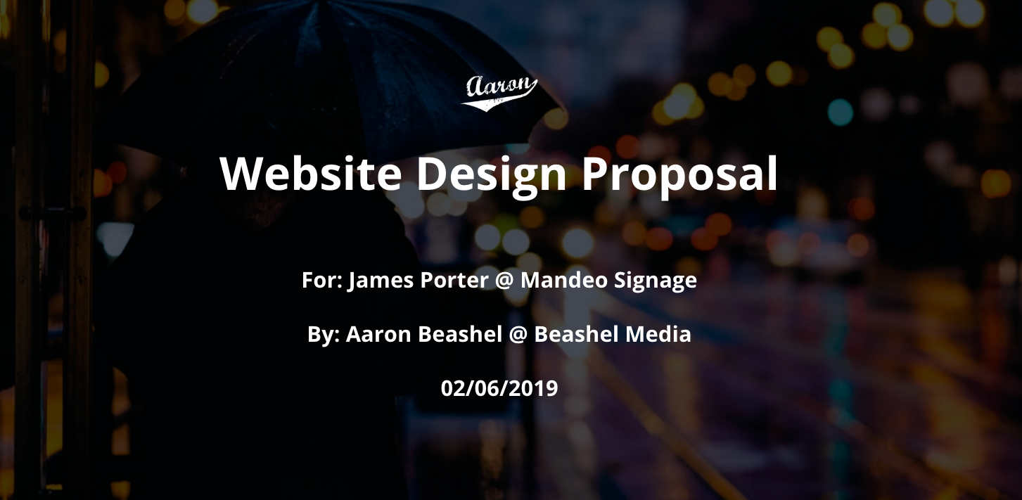 The 7 sections you need to have in your website design proposal to win clients + free template
