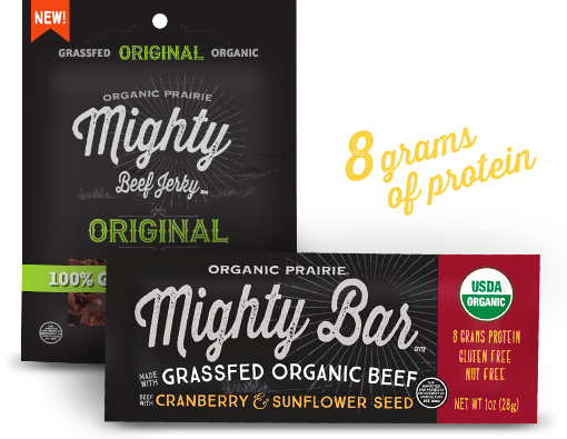 two mighty organic bar packages