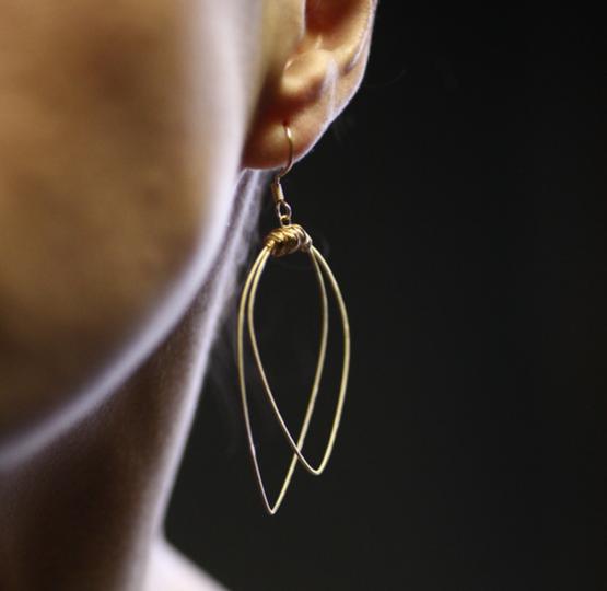 Restrung-earring