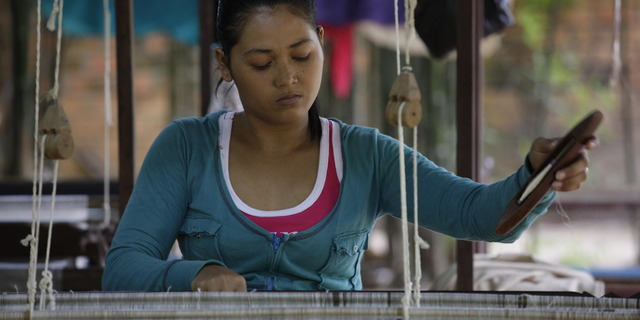 Weaver-blue-shirt