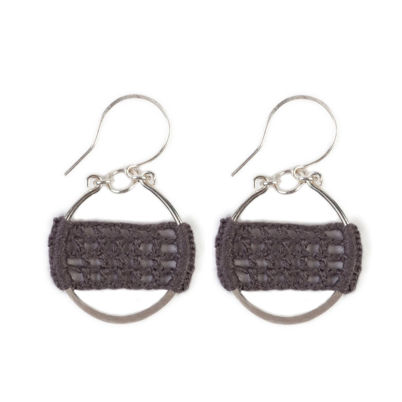 Artisan, Eco-Friendly, Designer Full Circle Earrings