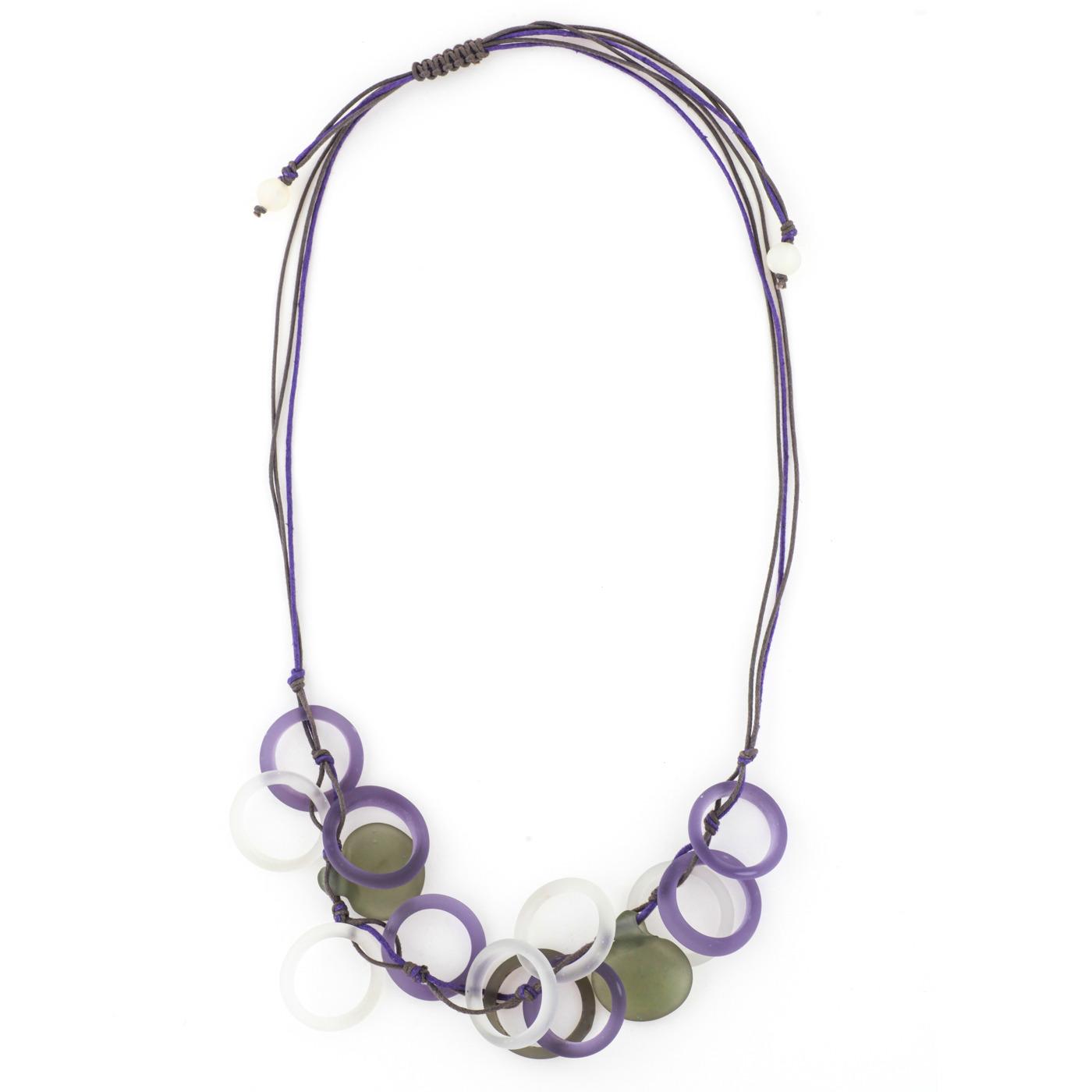 Artisan, Eco-Friendly, Designer Inner Circle Necklace