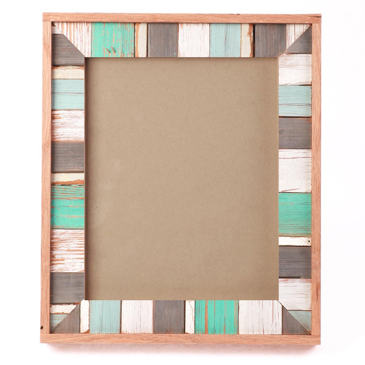 artisan eco friendly designer mosaic frame aqua 8 - Mosaic Frames