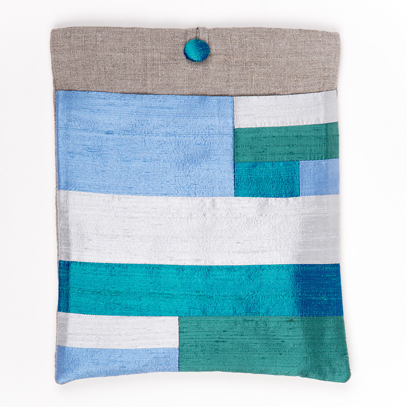 Artisan, Eco-Friendly, Designer Silken Stripes iPad Case