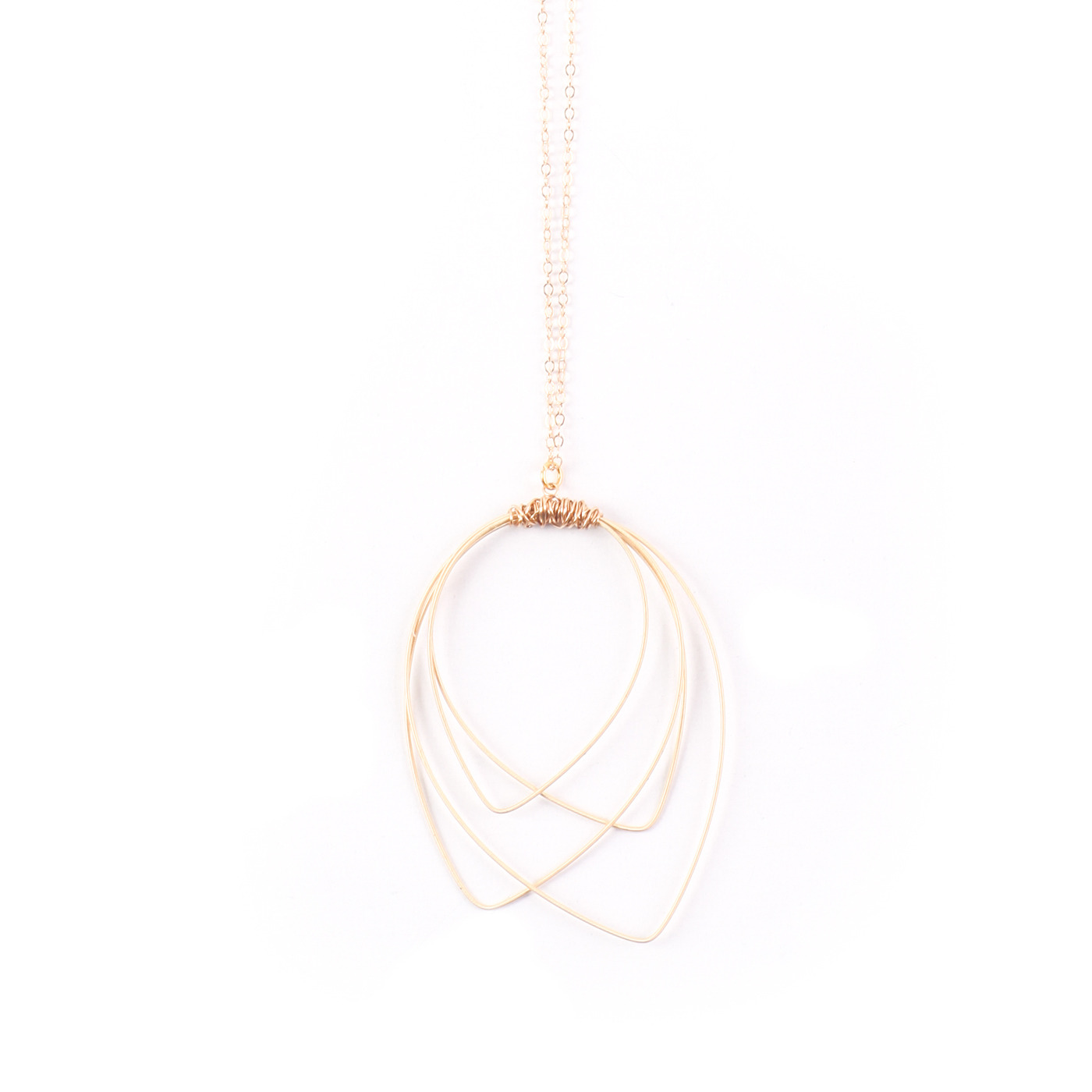 Artisan, Eco-Friendly, Designer Back Stage Necklace
