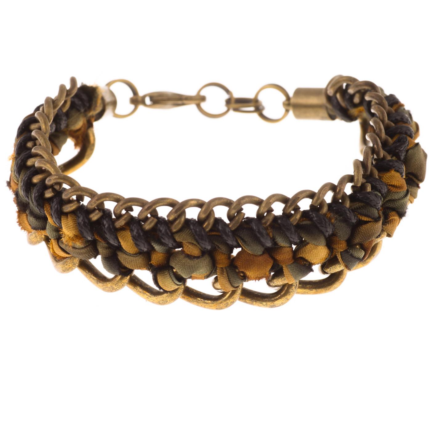 Artisan, Eco-Friendly, Designer Linked In Bracelet