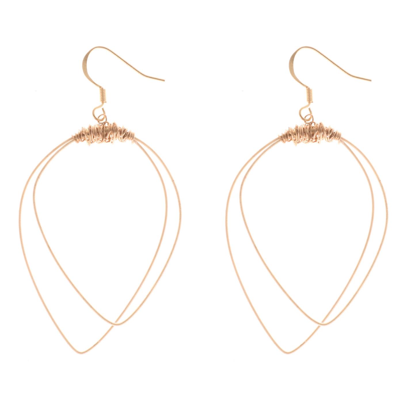 Artisan, Eco-Friendly, Designer Duet Earrings