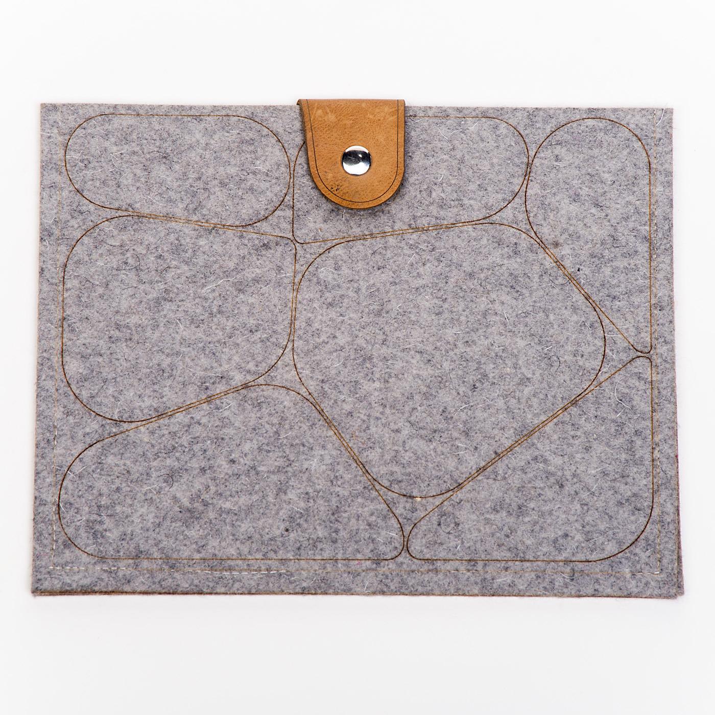Artisan, Eco-Friendly, Designer Cobblestone iPad Case