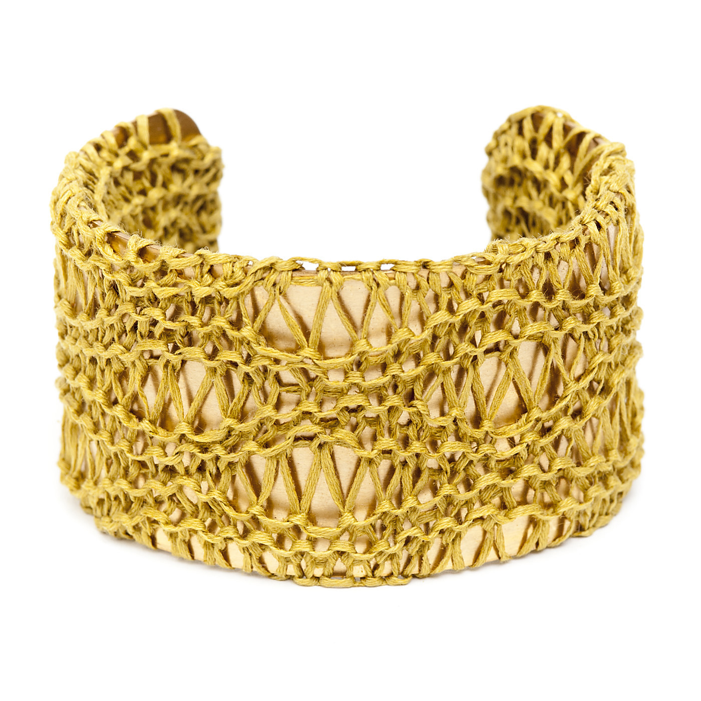 Artisan, Eco-Friendly, Designer Trellis Cuff