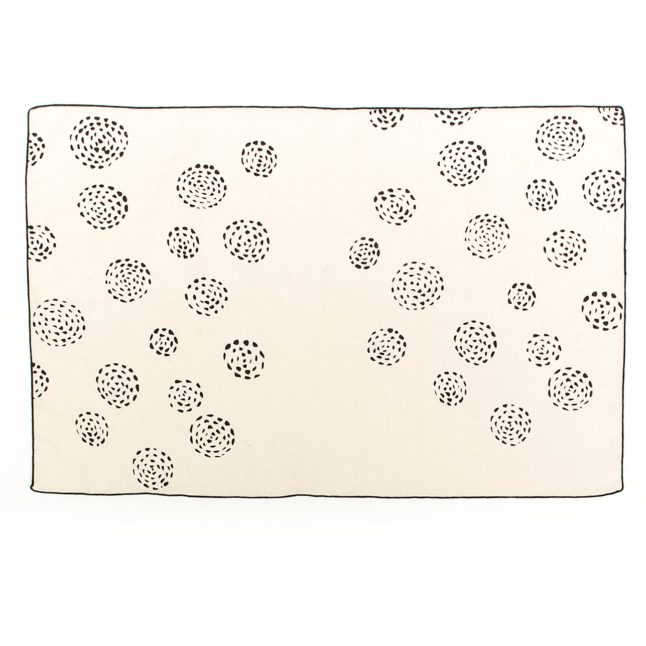 Artisan, Eco-Friendly, Designer Blooming Dots Tea Towel