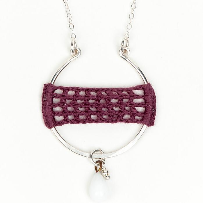 Artisan, Eco-Friendly, Designer Full Circle Necklace