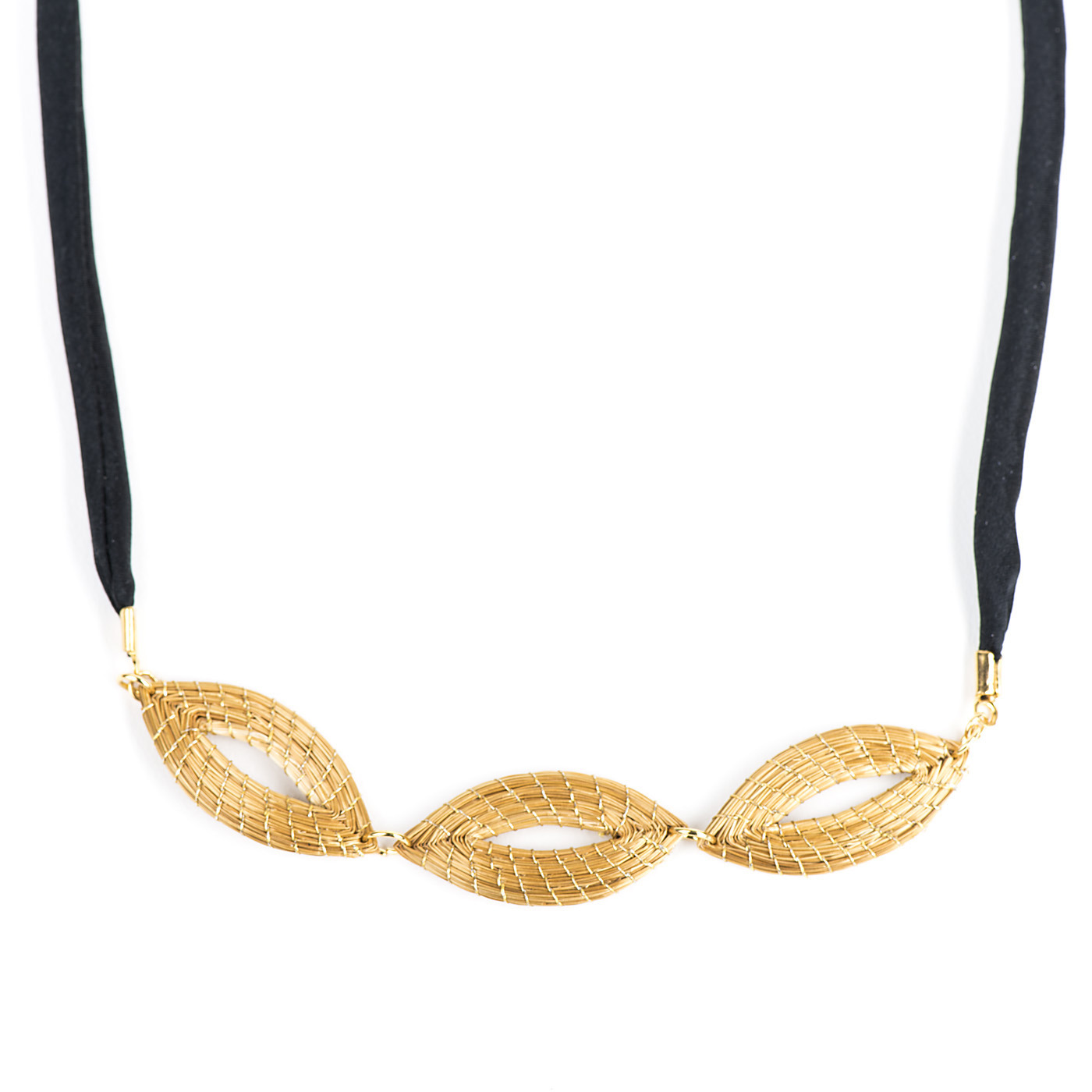 Artisan, Eco-Friendly, Designer Drift Trio Necklace