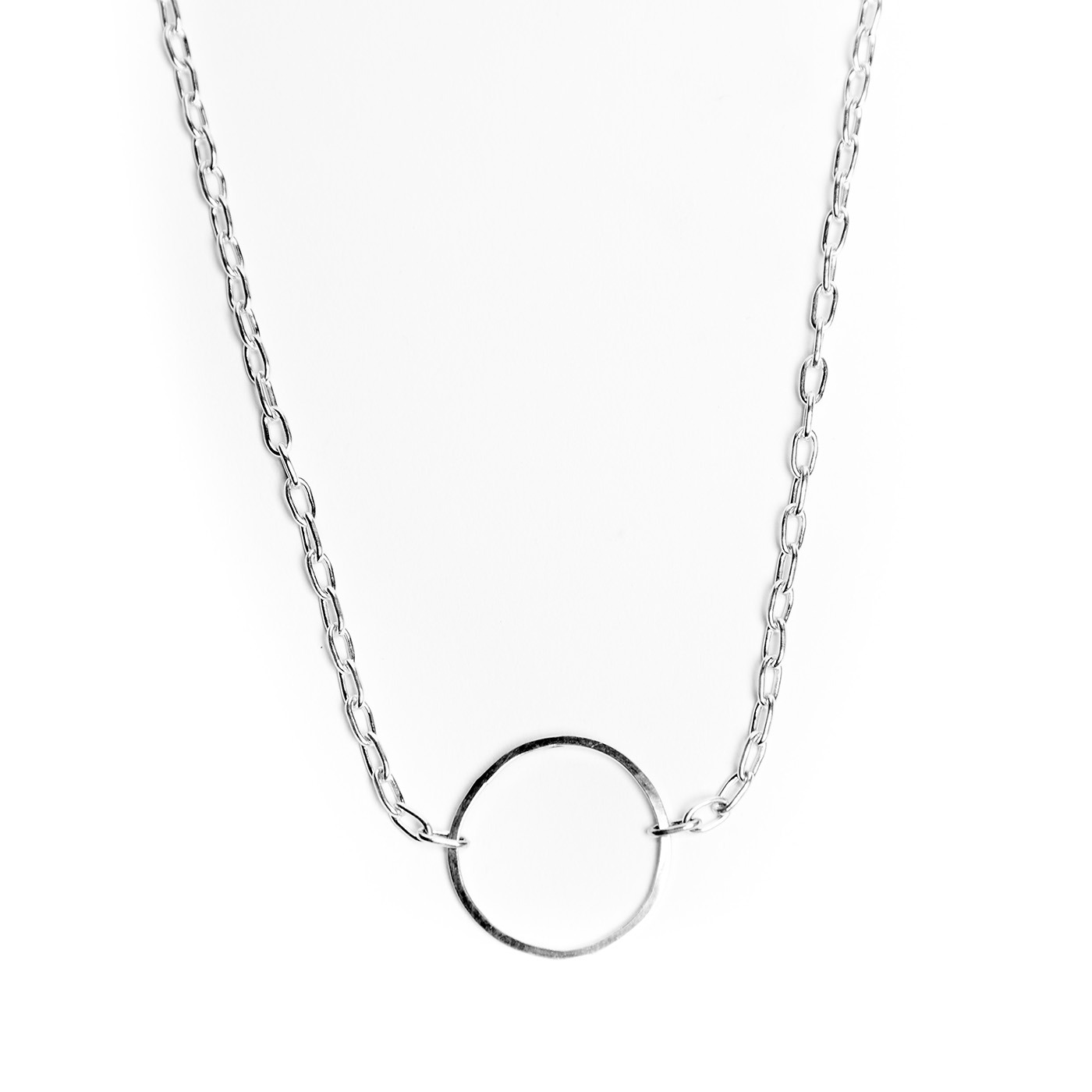 Artisan, Eco-Friendly, Designer Circle of One Necklace