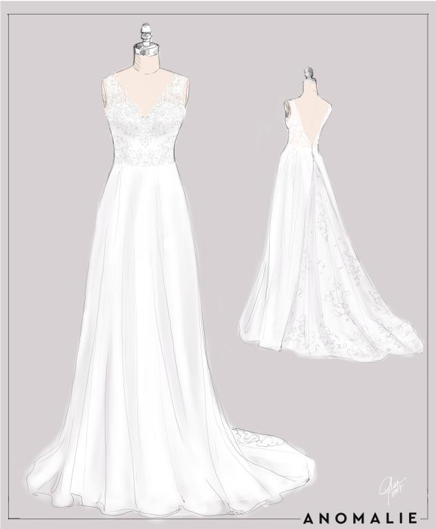 c2d9e90e4a3 ... perfect dress! Sofia B. Wedding Wire. From start to finish ...