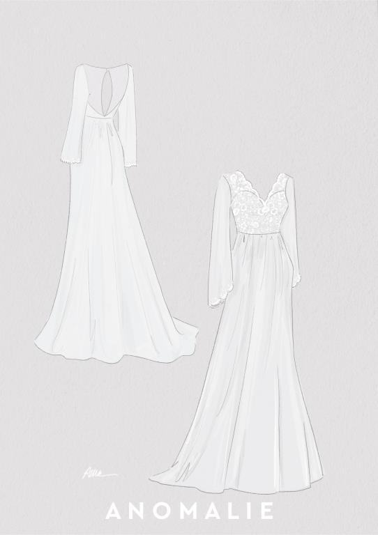 df0d4405ab7bf Anomalie | Custom Online Wedding Dresses
