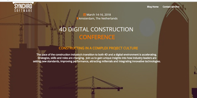 Construction Conferences - 4D Digital Construction Conference 2018