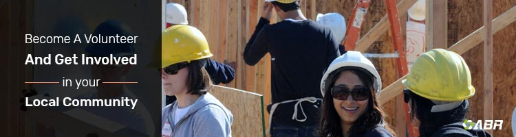 10. Volunteer in your Community - Construction Marketing Ideas