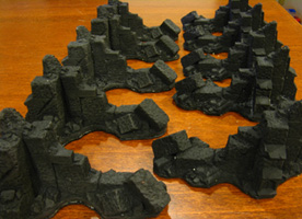 Domus Ruin castings