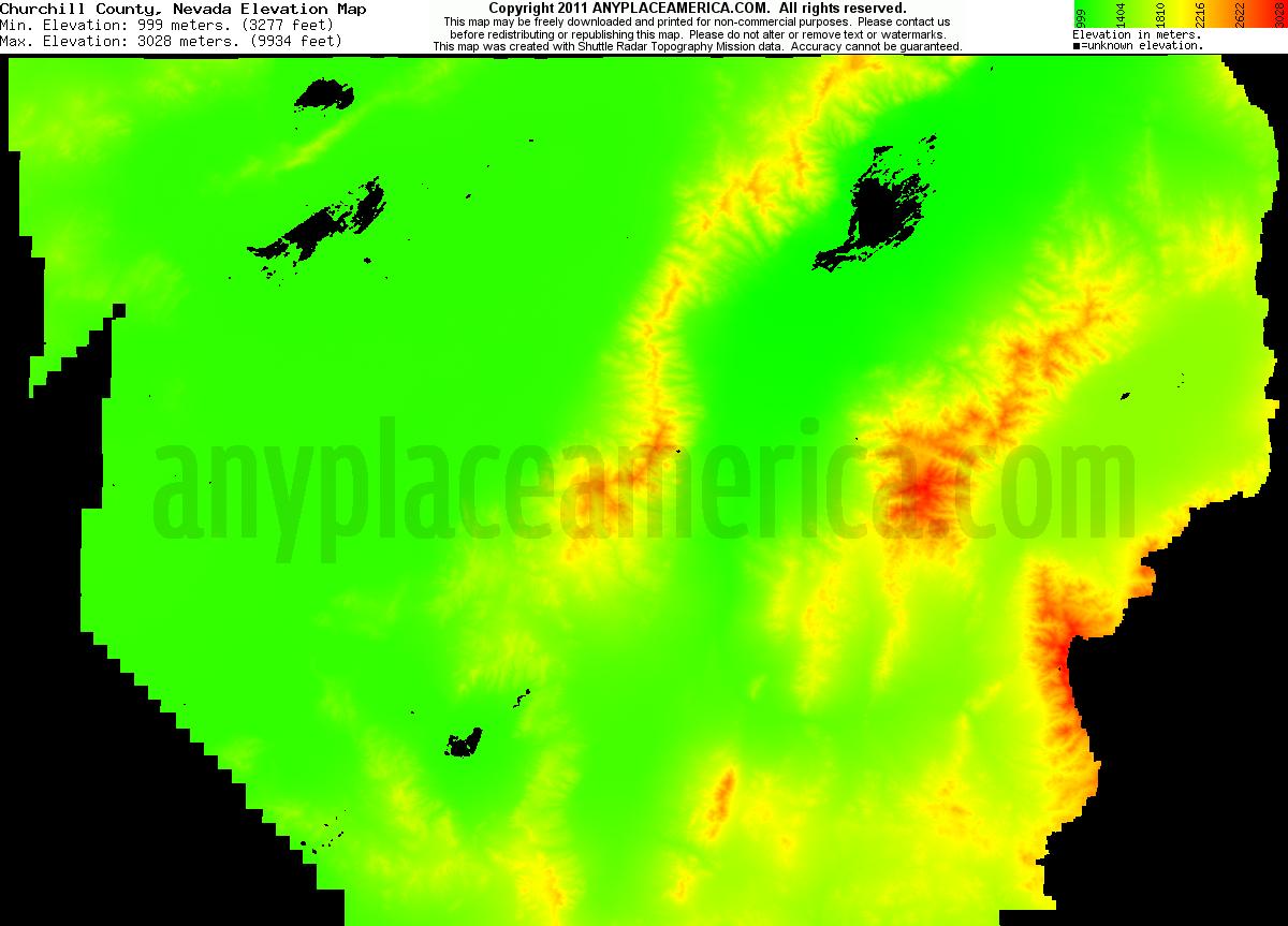 Free Churchill County Nevada Topo Maps Amp Elevations
