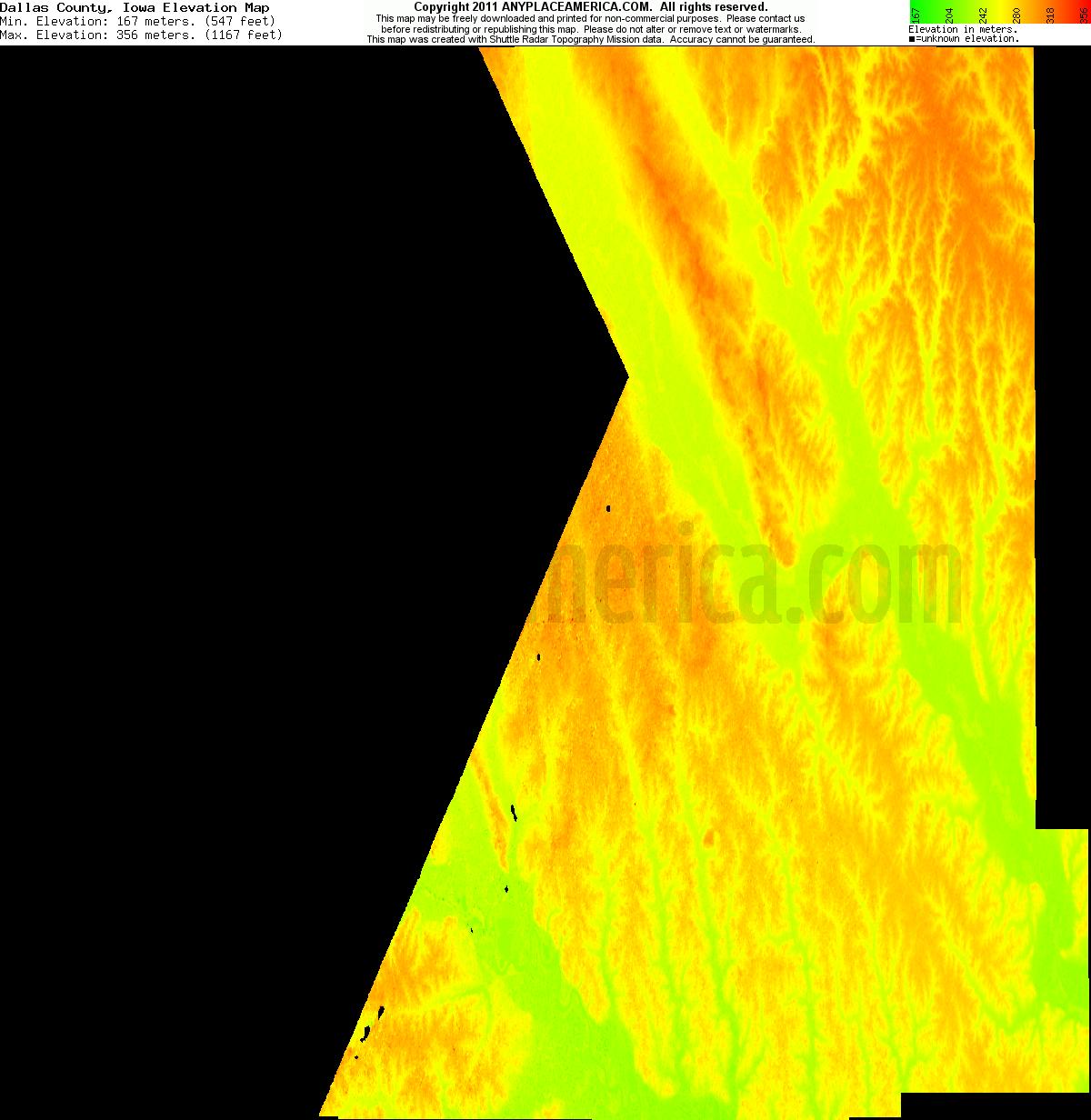 free dallas county iowa topo maps elevations free dallas county iowa topo maps
