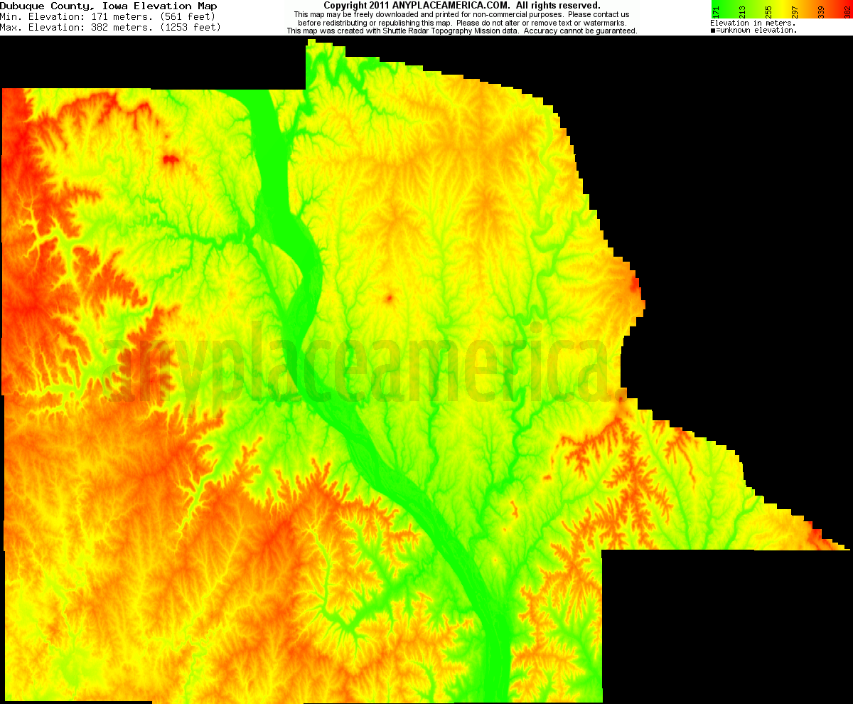 free dubuque county iowa topo maps elevations free dubuque county iowa topo maps
