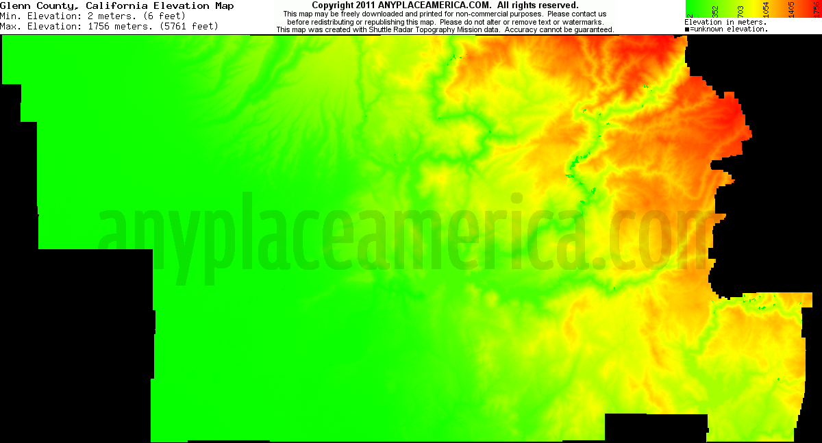 Glenn County California Map.Free Glenn County California Topo Maps Elevations