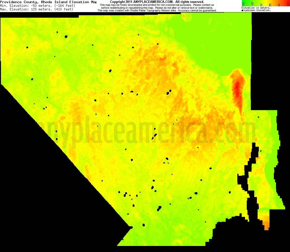 Topographic Map Rhode Island.Free Providence County Rhode Island Topo Maps Elevations
