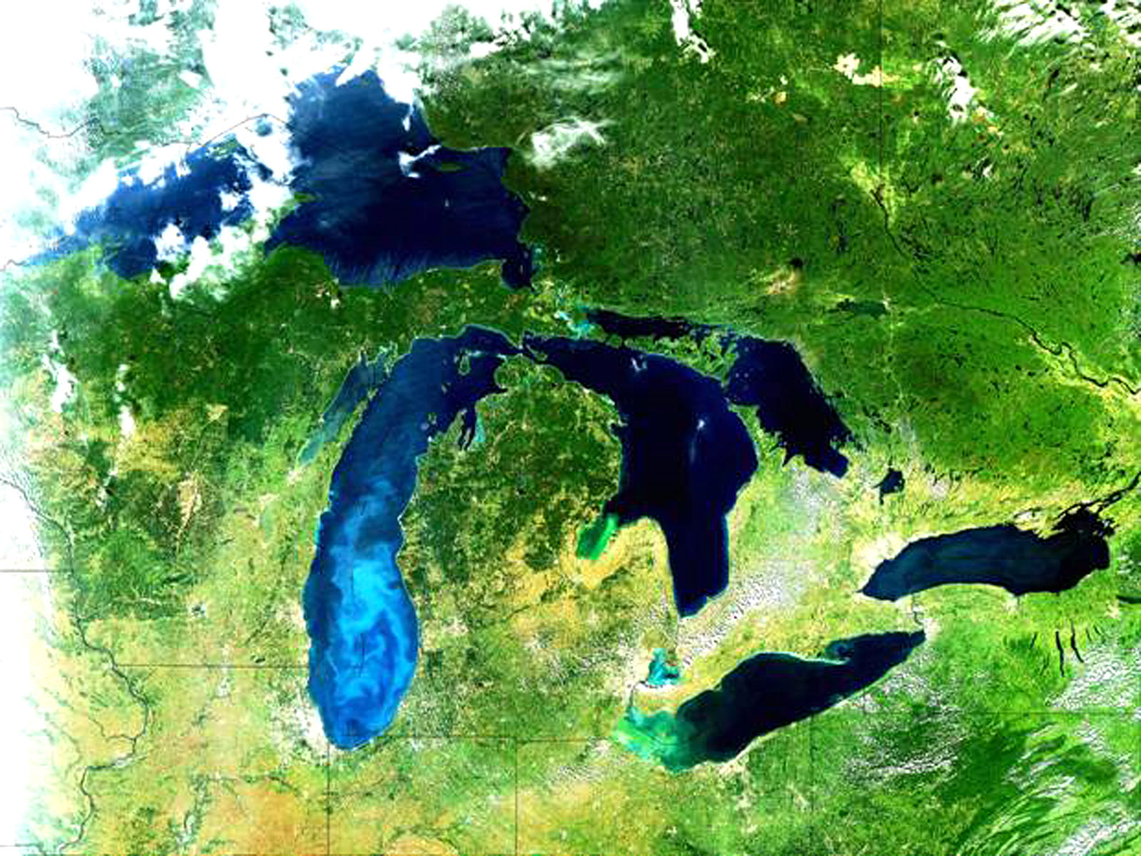 Great Lakes Basin Watershed
