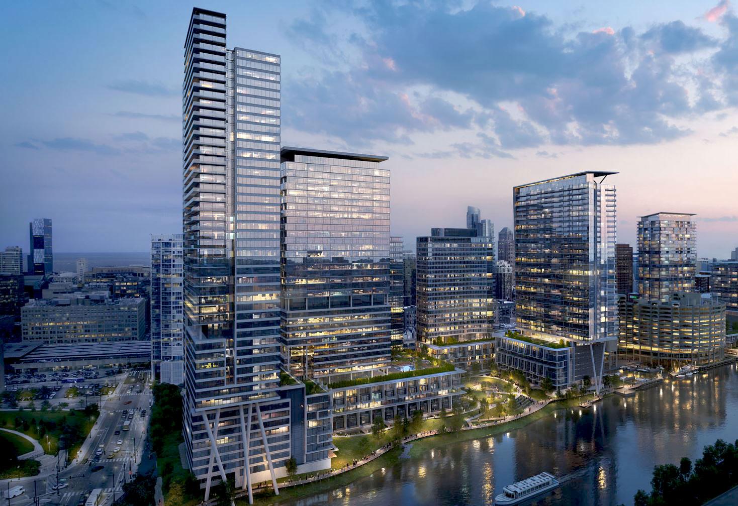 Chicago River Development