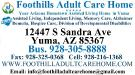 Foothills Adult Care Home