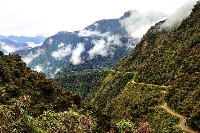 North Yungas Road Is One Of TheThe Worlds Most Dangerous Roads