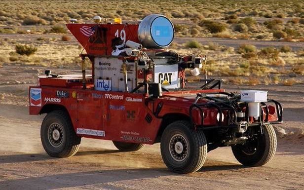 darpa-challenge car facts