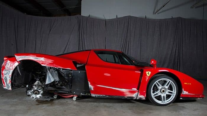 Top Reasons Why You Should Avoid Buying Salvage Ferrari