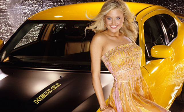 Kara Monaco Poses With Playboy Car
