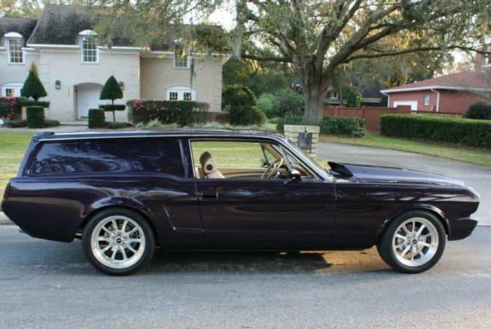 Mustang Volvo hybrid wagon mashup