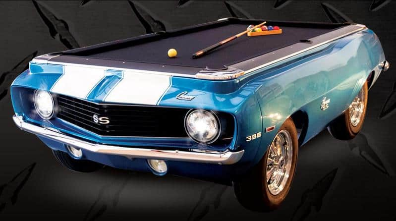 Sports Car Pool Table