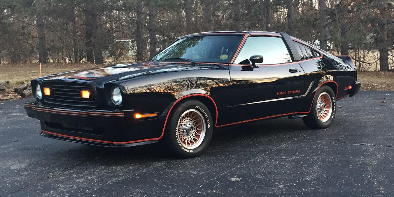 Best mustangs - black 1978 King Cobra