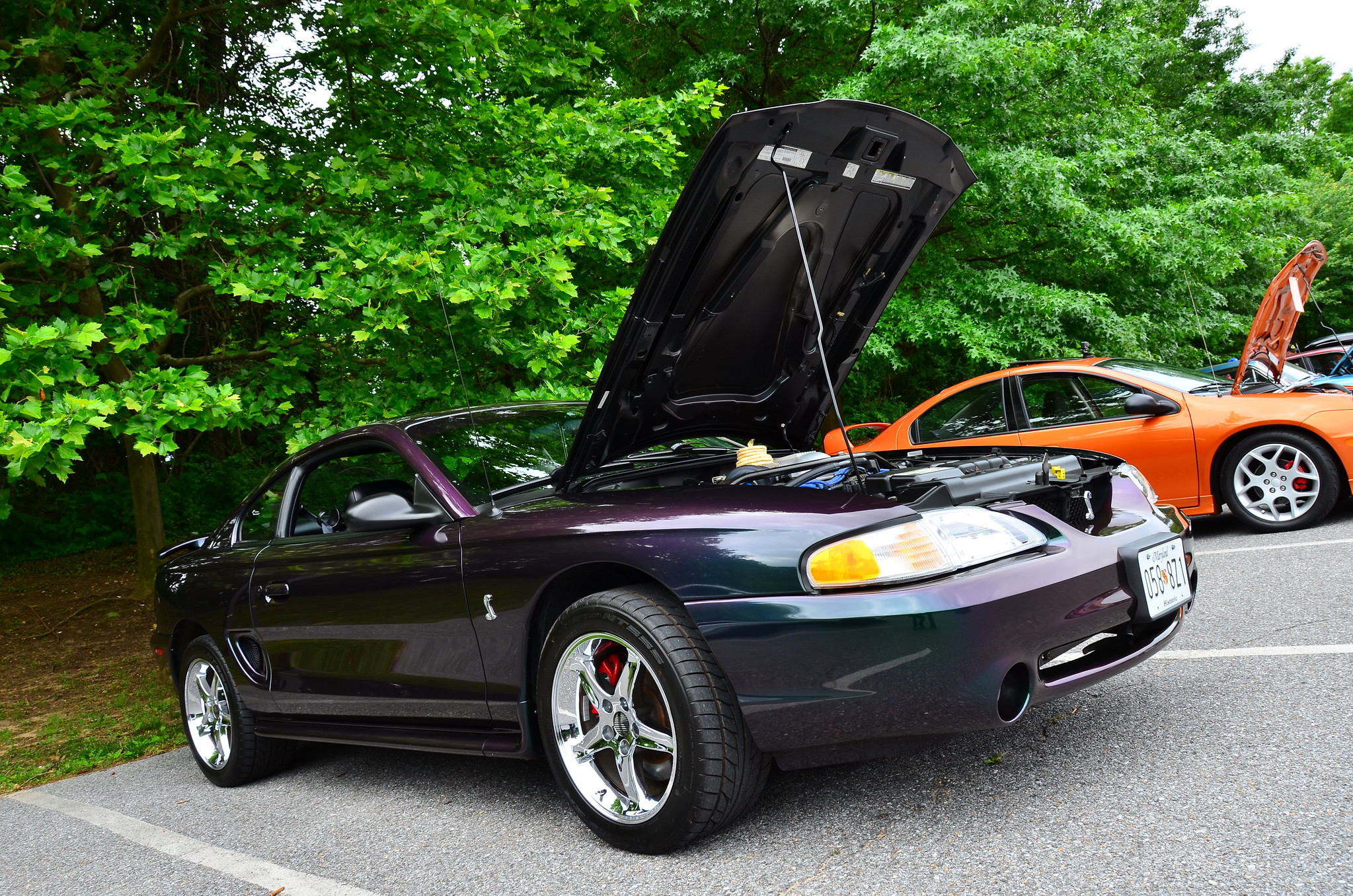 1996 Ford Mustang Cobra with mystic paint