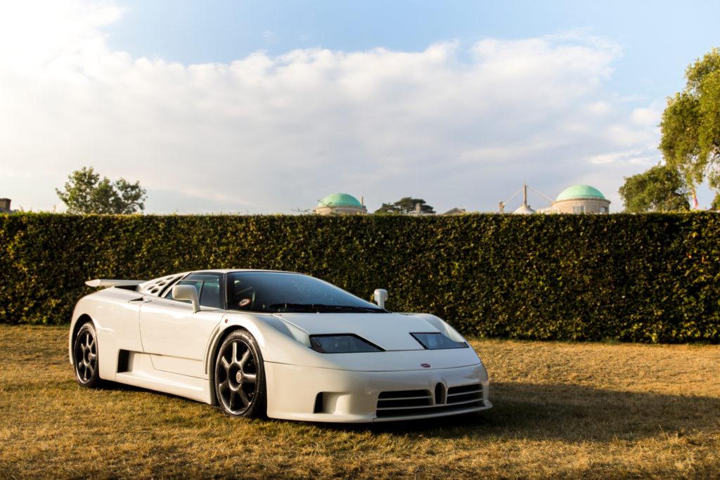 '90s supercars - Bugatti EB110 GT