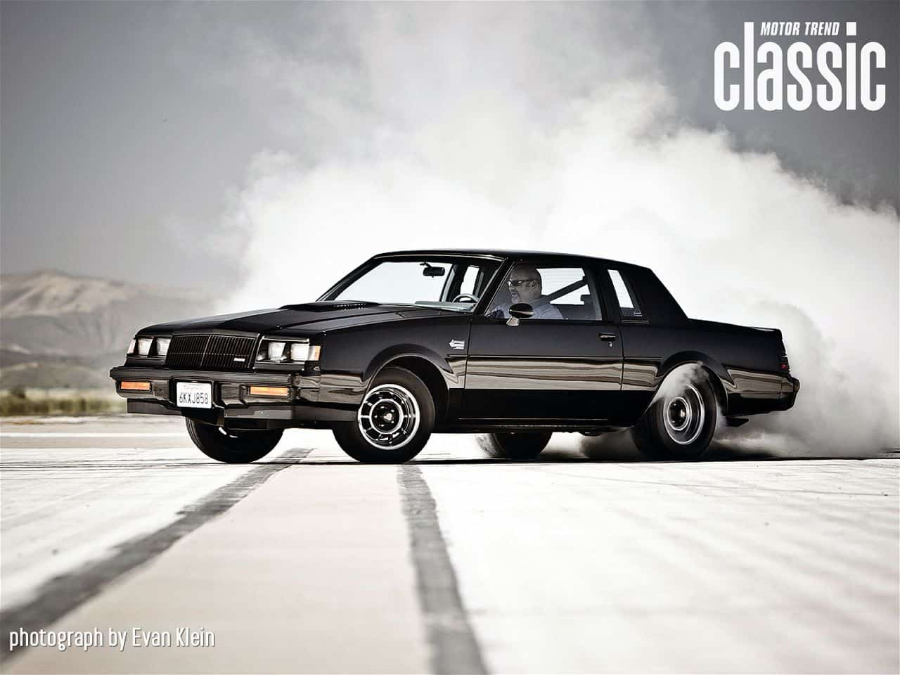 Fastest Cars Of The 80s - Buick GNX Grand National