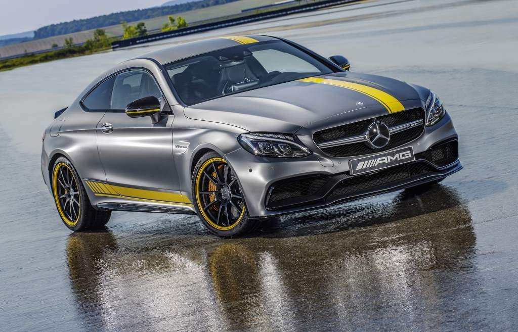 The Mercedes C63 Edition 1 Is A Road Going Version Of The C63 Dtm Racer From The Future Autowise