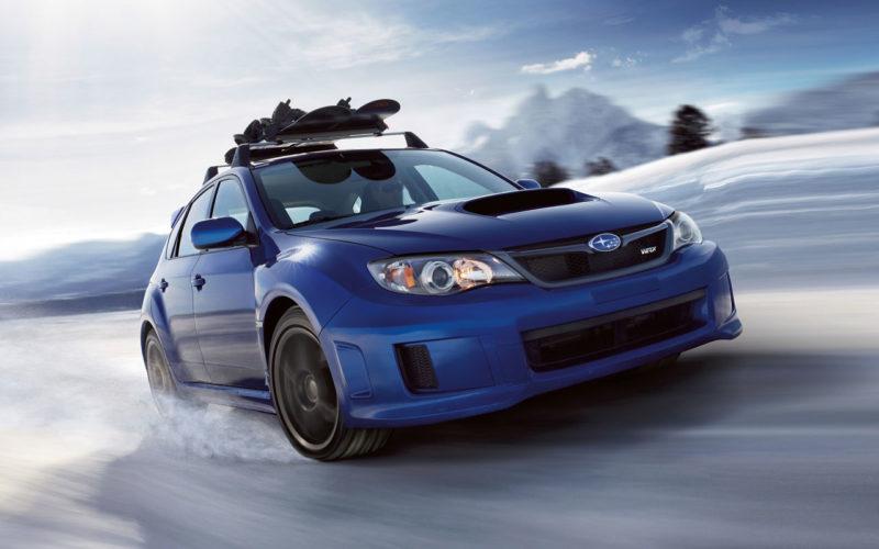 Subaru Impreza WRX STi Sedan Driving