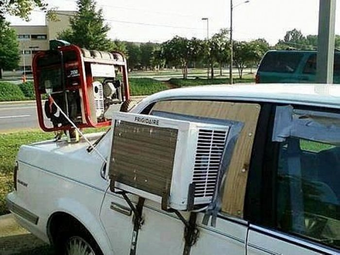 Car Fails - DIY Air Con