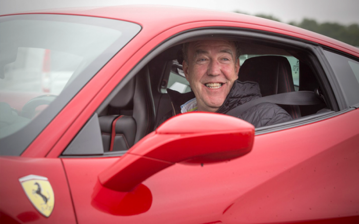 Jeremy Clarkson Favorite Car - Clarkson In The Driving Seat