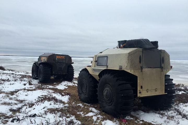 Russian 4x4 Sherp