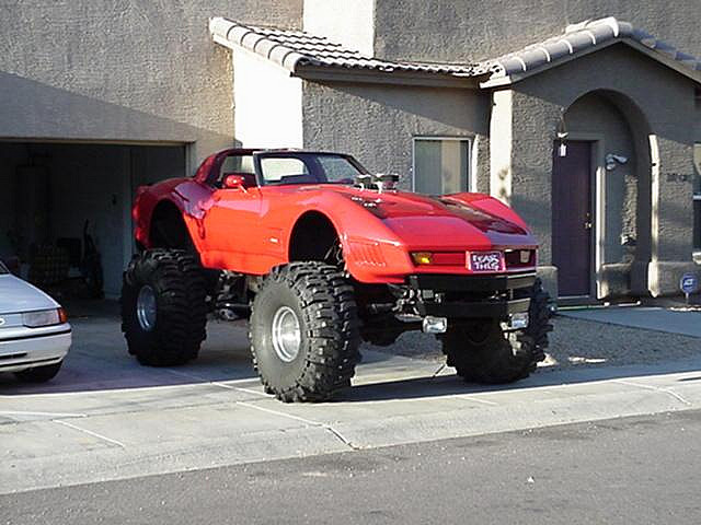 Lifted Monster Corvette