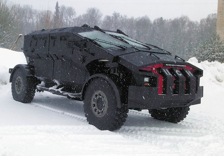 Russian Off Road Vehicles That You Haven't Heard Of - punisher
