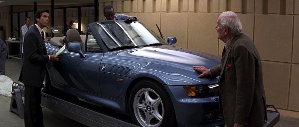 James Bond Cars BMW Z3 in Goldeneye